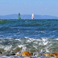 октябрьский цвет моря :: Ingwar