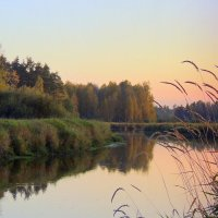 Осенняя, вечерняя Тверца :: Павлова Татьяна Павлова