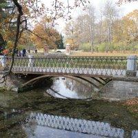 Мосты в Екатерининском парке:   Металлический мост, Красный каскад, Пудостский мост с каскадом :: Елена Павлова (Смолова)