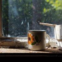 Эмалированная кружка с оранжевым цветком :: Татьяна [Sumtime]