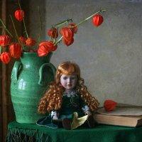 О зелёном и рыжем... :: lady-viola2014 -