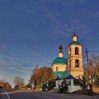 Церковь Благовещения Пресвятой Богородицы в Братовщине, 1815 :: Дмитрий Анцыферов