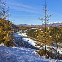 Снег в долине :: Анатолий Иргл