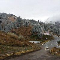 Вершины гор покрылись сединой... :: Anna Gornostayeva