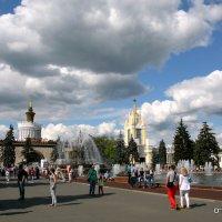 ритмы города на ВДНХ :: Олег Лукьянов