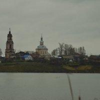 Церковь Троицы Живоначальной в селе Среднеивкино :: Дмитрий Стрельников