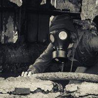 S.T.A.L.K.E.R. постапокалипсис. противогаз. война. :: Maria Miller