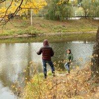Осенние рыбаки :: Дмитрий Тулупов