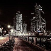 Вид с  набережной Тараса Шевченко. Москва. :: Алла ************
