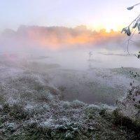 Морозный рассвет октября... :: Андрей Войцехов