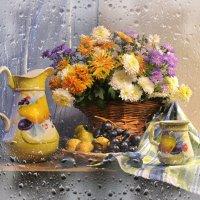 Осенний дождь... :: Валентина Колова
