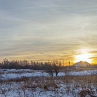 Солнце на закате. :: Анатолий Круглов