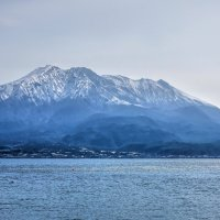 вулкан в снегу :: Slava Hamamoto