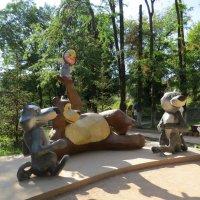 Маша и медведь :: Вера Щукина