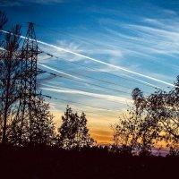 закатное небо :: Мария Зубова