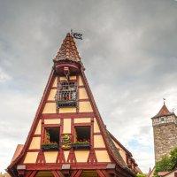 Ротенбург-об-дер-Таубер. Дом кузнеца Герлаха. :: Надежда Лаптева