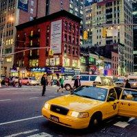 Желтое такси :: Diana Proskurina