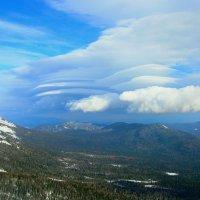 Причудливые облака :: Милешкин Владимир Алексеевич