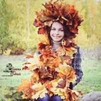 девушка осень :: Yana Odintsova