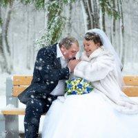 под первым снегом... :: Виталий Левшов