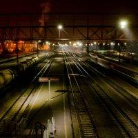прибытие поезда... :: Алексей Бортновский