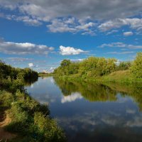 Река Клязьма :: Юрий Бичеров