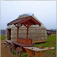 Морозово, этно деревня из десяток юрт :: Natalia Mihailova