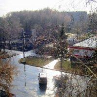 И снова снег растаял ! Дождь идёт .... :: Мила Бовкун