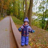 прогулка по осеннему парку :: Александр Прокудин
