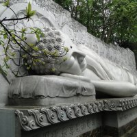 Лежащий Будда. Пагода Long Son (Лонг Шон) :: Сергей Звягин
