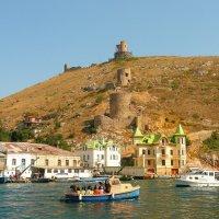 Генуэзская крепость Чембало в Балаклаве :: Galina Belugina