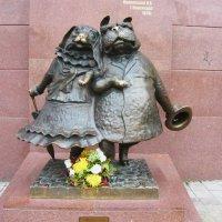 Памятник собакам в Краснодаре :: Вера Щукина