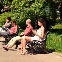 На солнышке :: Владимир Болдырев