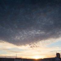 Наплывающее небо :: Pavel Lomakin