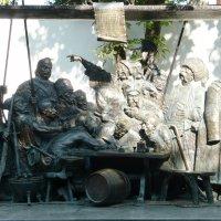 Запорожцы пишут письмо султану :: Вера Щукина