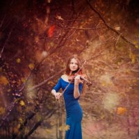 Мелодия осени :: Фотохудожник Наталья Смирнова