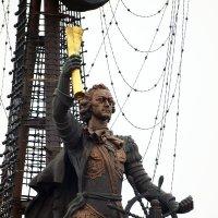 Фрагмент памятника Петру I работы Зураба Церетели :: Михаил Малец