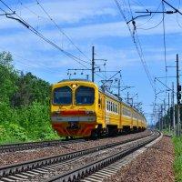 Электропоезд ЭД4М-0242 :: Денис Змеев