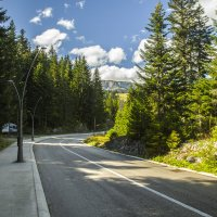Дорога на Черное озеро :: Gennadiy Karasev