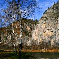 Берёзы желтою резьбой блестят в лазури голубой... :: Евгений Юрков