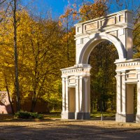 Арка парка  Jakobsruhe :: Игорь Вишняков