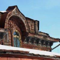 Фрагмент дома купчихи Поповой :: Николай Варламов