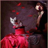 Дама с котенком ....... :: Aleks Ben Israel