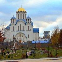 Храм Покрова Пресвятой Богородицы в Ясенево. :: Oleg4618 Шутченко