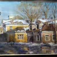 Весна в старой Москве (Новая Басманная улица). :: Наиля
