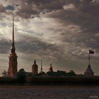 Петропавловка в белую ночь :: Alent Vink