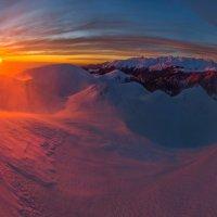 Зимний вид на хребет Аарба. :: Фёдор. Лашков