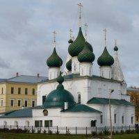 Церковь Происхождения Честных Древ Креста Господня, что на Городу в Ярославле :: Galina Leskova