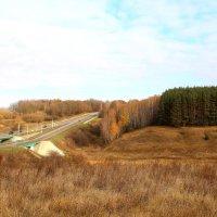 Вид на трассу М2 (Крым). :: Борис Митрохин