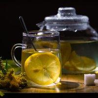 Липовый чай с лимоном :: Женечка Зяленая